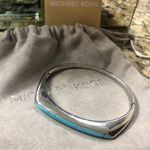 Michael Kors turquoise cuff bracelet
